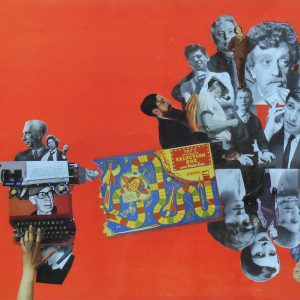 Writer's Block is a Collage by Julia Andrews-Clifford
